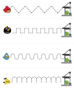 Angry Birds Printables via Homeschool Creations - The Wired Homeschool